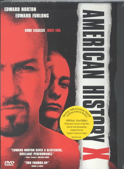AMERICAN HISTORY X BY NORTON,EDWARD (DVD)